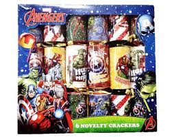 6 marvel novelty crackers crackers poundtoy