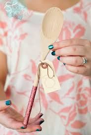 wooden party favors learn how to make glittered wooden spoon gifts wooden spoon