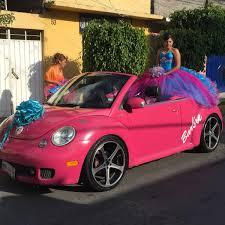 volkswagen barbie renta auto convertible beetle barbie xv años boda alquiler