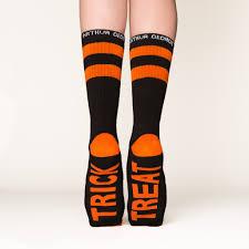 halloween knee socks trick treat halloween socks cool arthur george socks by rob