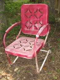 repair vintage metal lawn chairs fresh painted vintage metal