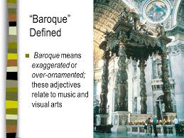 of the baroque period ppt