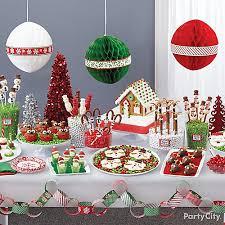 Christmas Party Treats - christmas north pole treats table idea north pole treat ideas