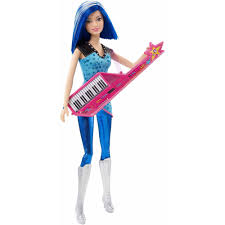 halloween barbie doll barbie in rock u0027n royals pop star doll walmart com