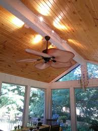 image result for screened in porch tongue groove ceiling