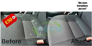 car upholstery cleaning prices car upholstery steam cleaning stevenage mobile services