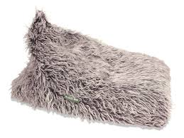buy triangle fur bean bags online in australia the most