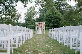 white wedding chairs oconee events summer wedding at washington grass inn