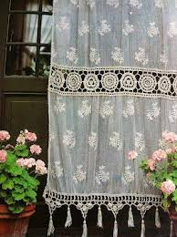 Hanging Lace Curtains Best 25 French Curtains Ideas On Pinterest Country Style