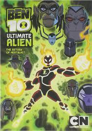 amazon cartoon network ben 10 ultimate alien return