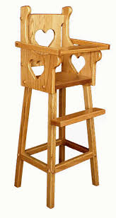 interesting wooden doll high chair plans and doll high chair wood