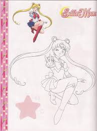 46 best sailor moon coloring pages images on pinterest draw diy