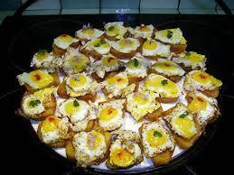 recette de canapé avec de mie recette de canapes aux œufs