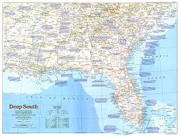 map us south south map