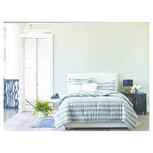 Blue Striped Comforter Set Gray Arch Stripe Comforter Set Nate Berkus Target