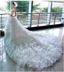 wedding dresses fluffy discount 2017 beautiful mermaid princess fashion models big