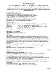 Bartender Sample Resume by Qa Sample Resume Resume Cv Cover Letter Qa Sample Resume 2017