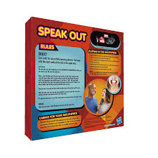 200 phrases 5 mouthpieces 100 original speak out game board games