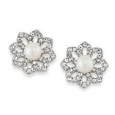 icings earrings earrings icing on the cake clip on earrings carolee jewelry