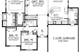 3 bedroom ranch floor plans floor plans for a ranch house small homes style modern cost