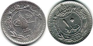 Ottoman Silver Coins by Identify U0026 Translate Please Ottoman Turkey 10 Para 1910 Coin