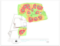 Wifi Heat Map Wifi Heat Maps Non Residence Areas Information Technology