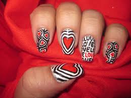 24 valentine nail art designs valentines day nail art designs