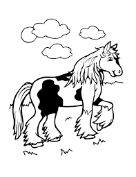 cute horse coloring page h u0026 m coloring pages