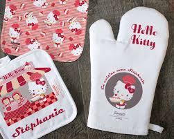tablier de cuisine hello gant et maniques hello en cuisine