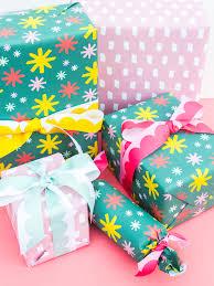 gift wrap ribbon custom printed gift wrap and ribbon hearts