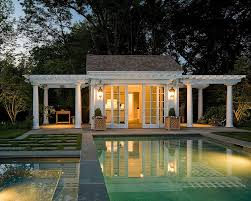 Luxury House Plans With Pools 25 Pool Houses To Complete Your Dream Backyard Retreat