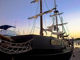 Image Of Hawaiian Flag Sail Under The Black Flag With Hawaii Pirate Ship Ward Village