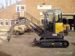 volvo ecr 25d 2017 mini excavators u003c 7t mini diggers