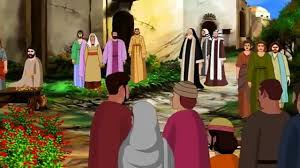 bible stories for kids jesus heals a paralytic at the pool of