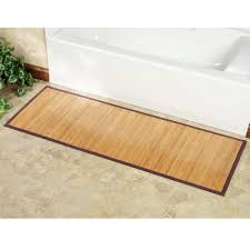 Teak Shower Mat Bamboo Shower Mat The Point Pluses Homesfeed
