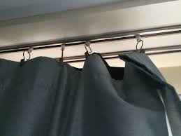 How To Hang Curtains With Hooks Tenaciously Yours Jessica Guthrie House Hacks At The Daiso