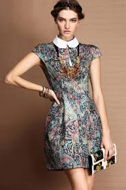 print dress vintage floral print dress the trend of the year fashion gossip