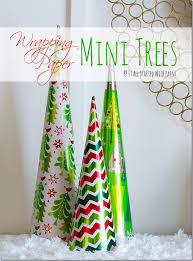 Christmas Decorations You Can Make At Home - amazingly simple decorations you can diy with leftover wrapping paper