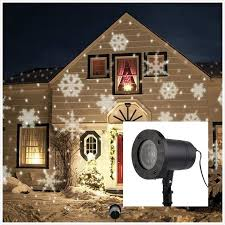 snowflake lights christmas landscape lights projector topchances christmas light
