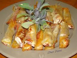 cuisiner des feuilles de brick prosciutto et ricotta en feuilles de brick domi vous ouvre sa porte