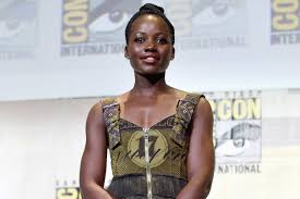 thanksgiving raps lupita nyong u0027o shared a video on instagram of her rapping