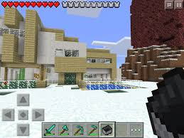 Mpce Maps Mcpe Survival Modern House Download Mcpe Maps Minecraft