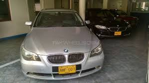 bmw 545i 2004 bmw 5 series 545i 2004 for sale in karachi pakwheels