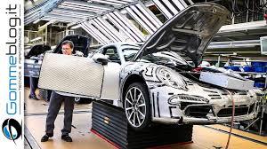 porsche 911 factory car factory porsche 911 how it s made production plant 2017