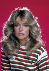 farrah fawcett hair color farrah fawcett s famous flip hairstyle over the years photos