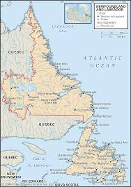 Map Of Newfoundland Canada by Avan20 Blog The Vinland Map