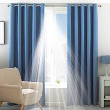 Eclipse Blackout Curtain Liner Eclipse Denim Eyelet 9059860570001 1 Blackout Curtain Lining