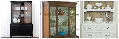 china cabinets hutches 5 fantastic ways to transform your old china hutch thirty eighth