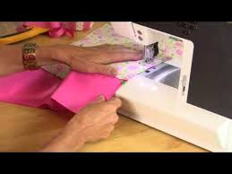 pillowcase baby dress by debbie shore youtube sew on u0026 sew on