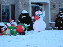 outdoor lighted snowman costco very charming snowman outdoor